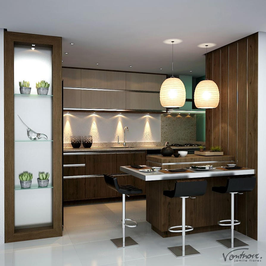 Oliveira Kitchen by vonthorr