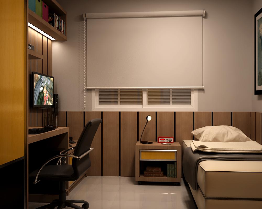 Junior Bedroom | 04 by vonthorr