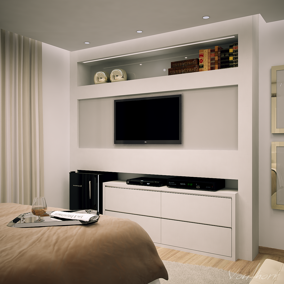 Danis Bedroom by vonthorr