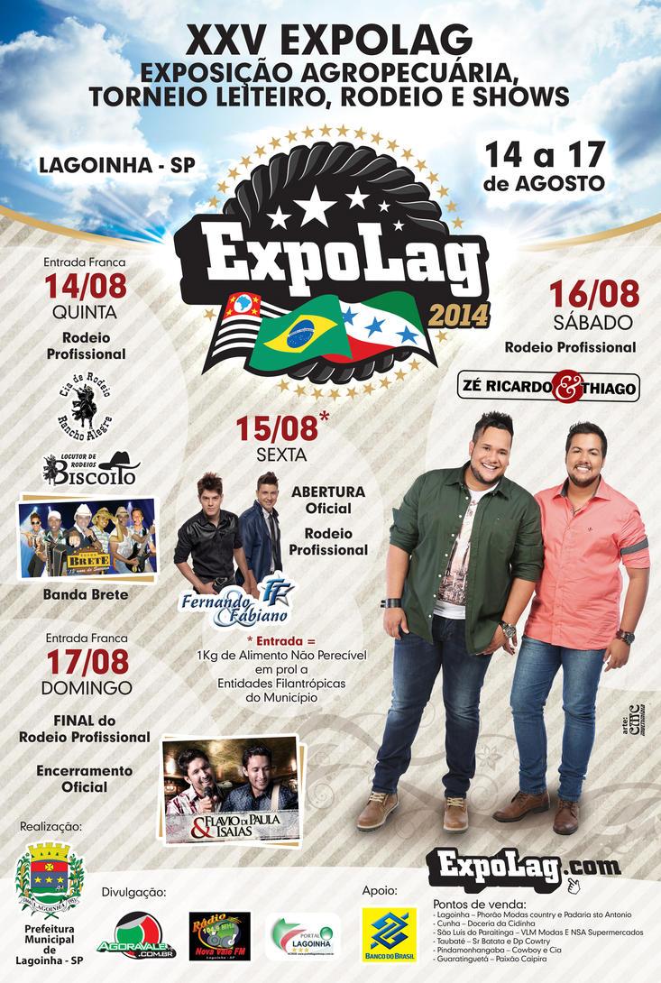 CARTAZ DA EXPOLAG 2014 by juliofantasma