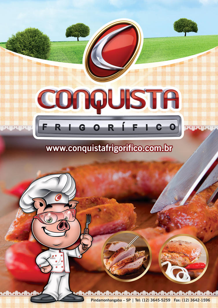Capa do Catalogo do Frigorifico Conquista by juliofantasma