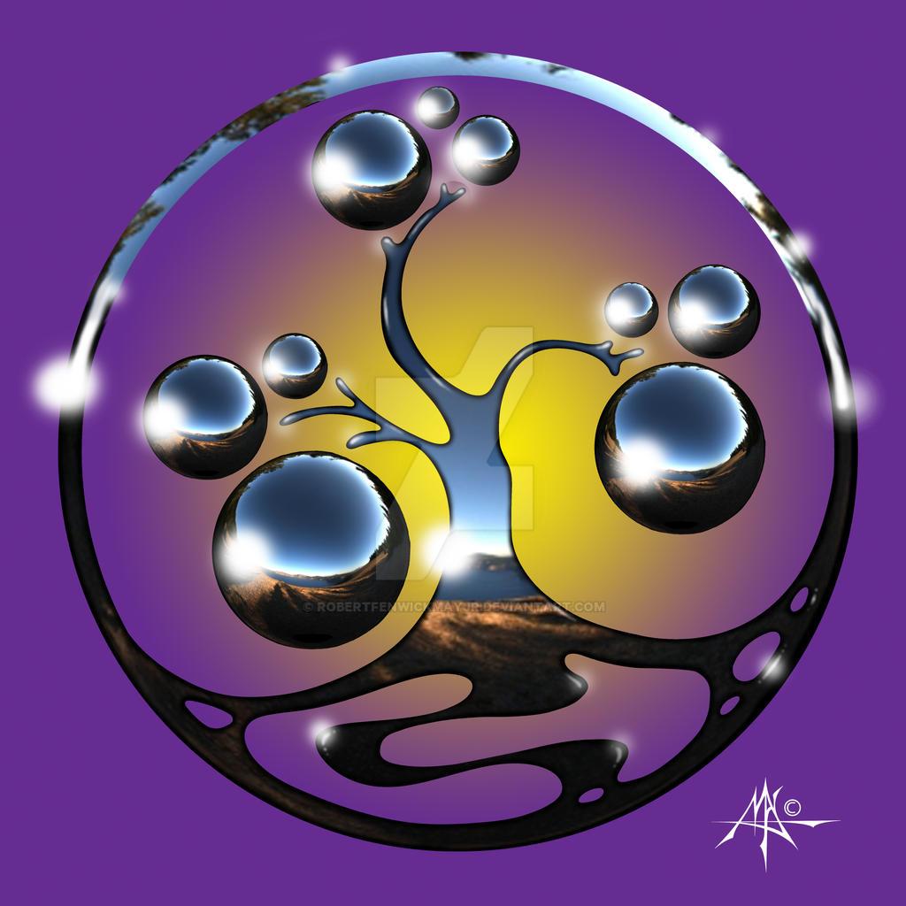 Bonsai Chrome Logo Version 2 by RobertFenwickMayJr