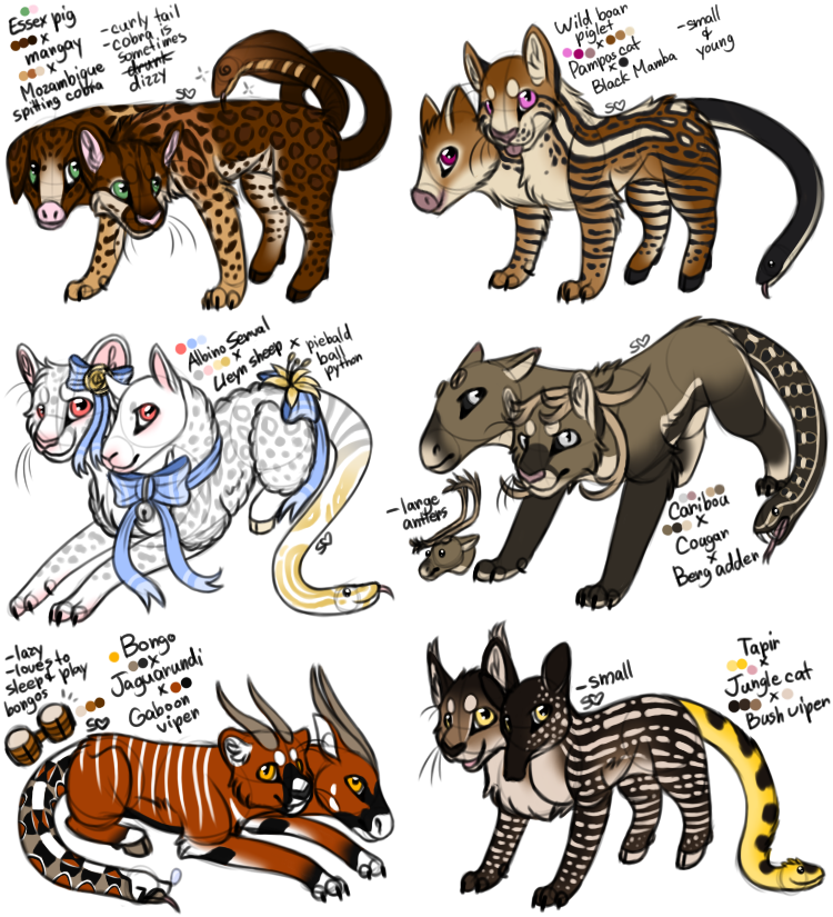 Sadbloom Chimera Batch 2/2 - [CLOSED] by MelSebeon on ...