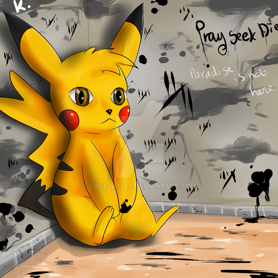 Pikachu by Lovelatias