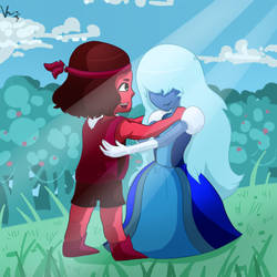 Ruby And Sapphire by Lovelatias