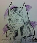 Huntress Sketch