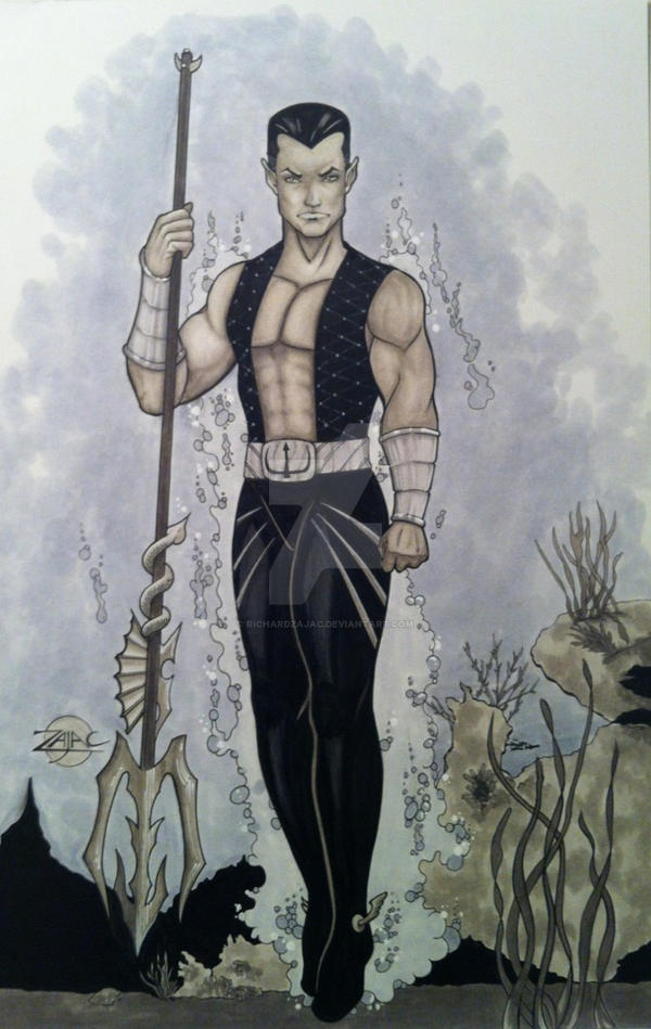 Namor by RichardZajac
