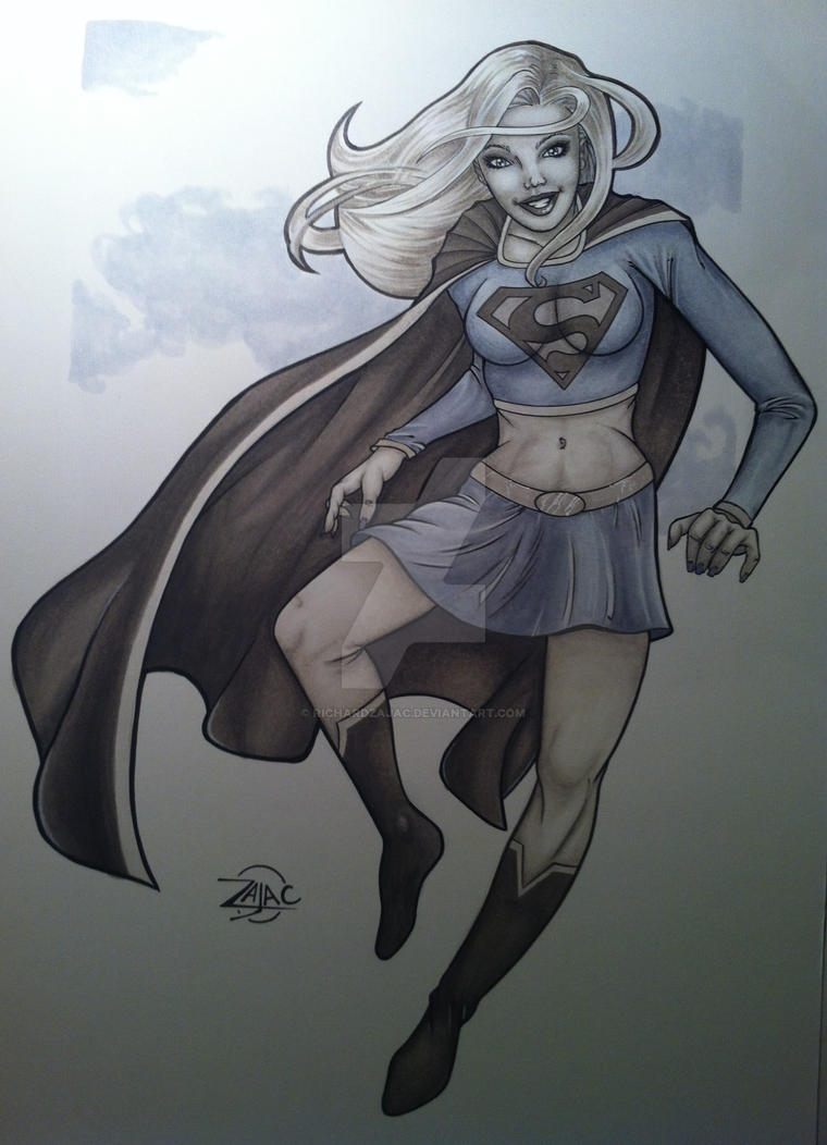 Supergirl by RichardZajac