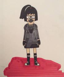 Tina Belcher as a SKYND superfan