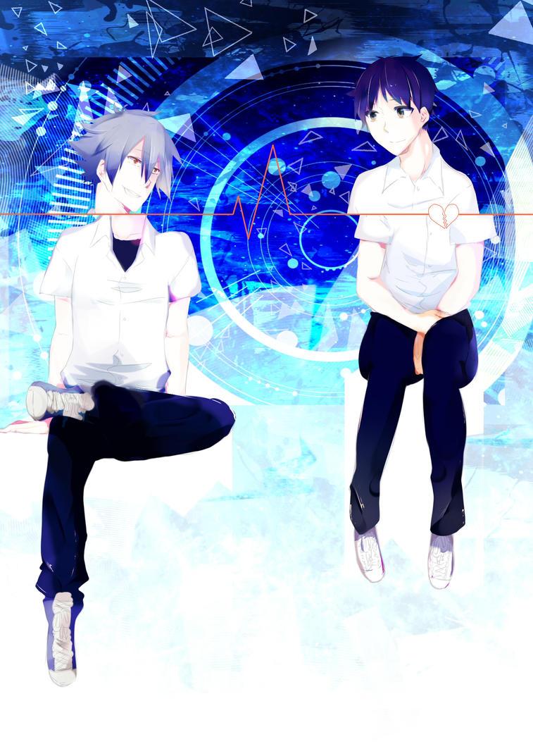 We are on the same wavelenght you and I by SaitoIkiru