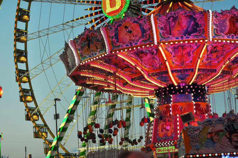 funfair by leeri