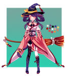 Oriental Witch Adopt Auction (CLOSED)