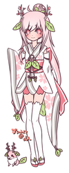 Sakura Leafie Auction [CLOSED] by Jinhii
