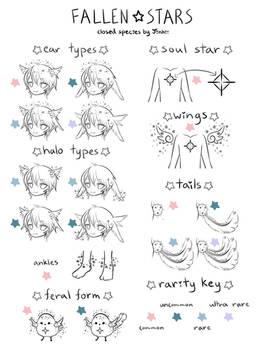 Fallen Stars [Species Sheet]