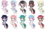 Hatched Fallen Stars + Auction For #7 [CLOSED]