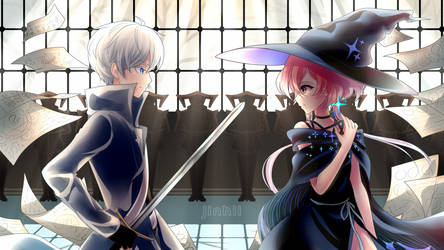 Ga1ahad and Scientific Witchery by Jinhii