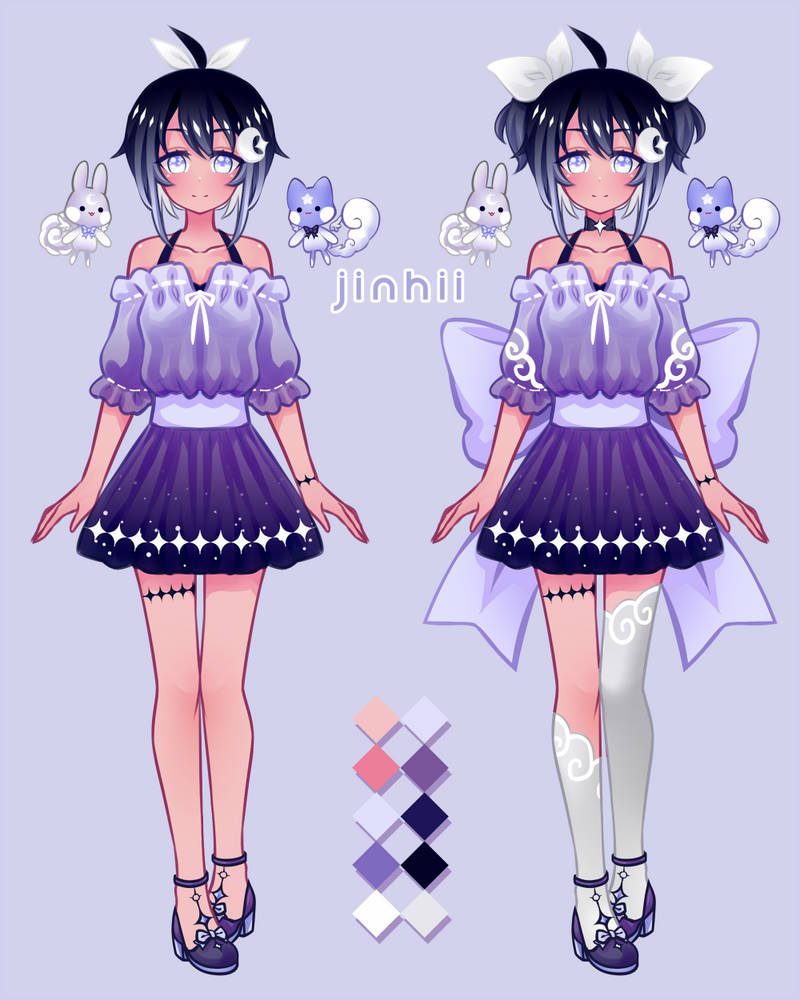 New Persona Ref by Jinhii
