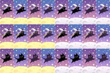 Black Cat Wallpaper [F2U]
