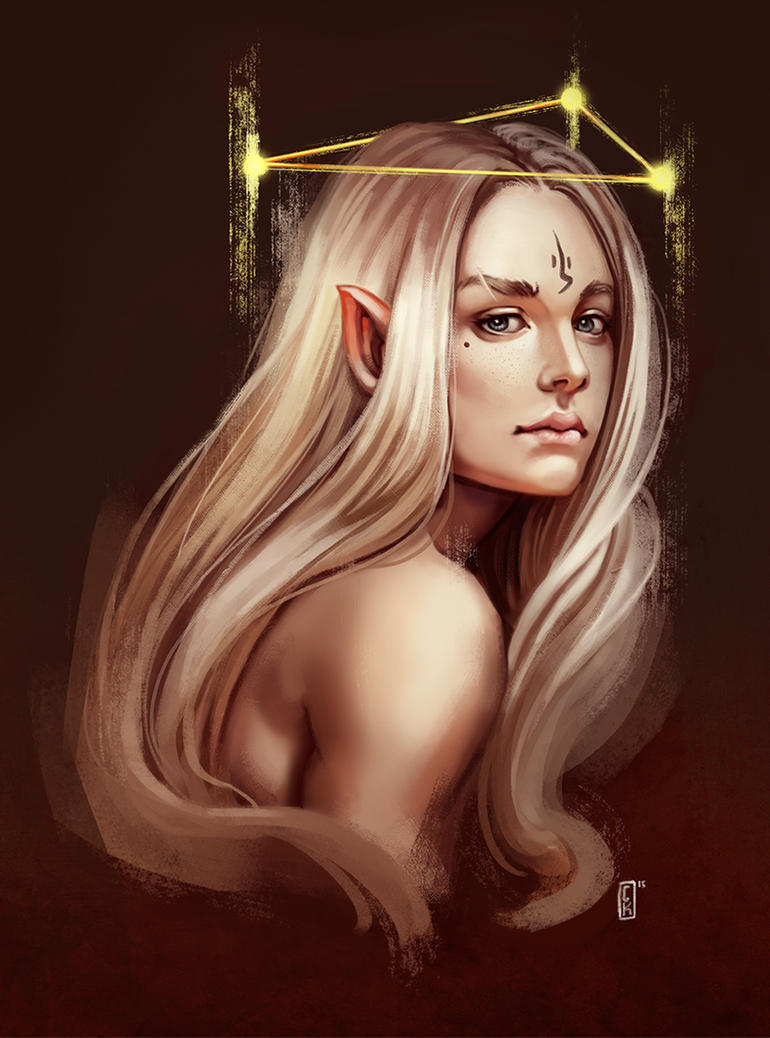 Elf by AriyaLothiriell