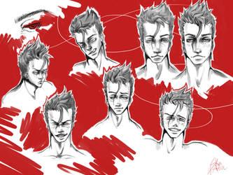 Uldhan Sketch by SkinOfAlien