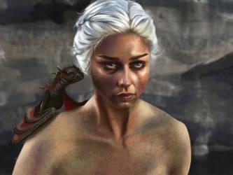 Daenerys Targaryen by SkinOfAlien