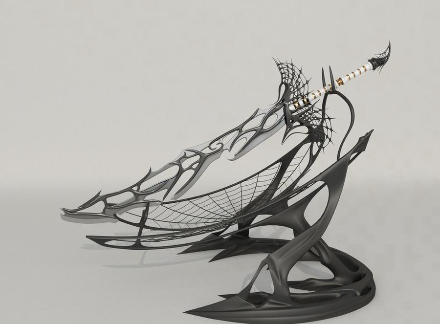 Soul of Spider sword v2.0 - final by Samouel