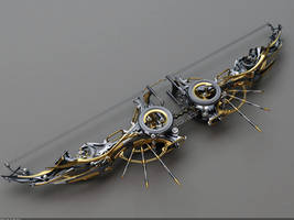 Heretic Composite Bow: Top view