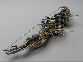 Heretic Composite Bow: Perspective view by Samouel