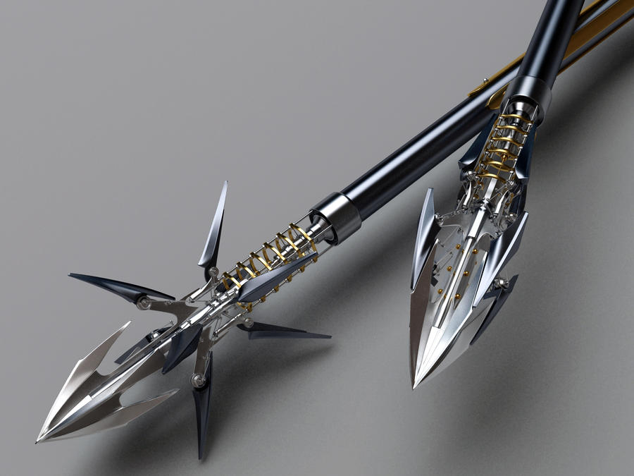 Heretic Composite Bow Arrows closeup by Samouel on DeviantArt