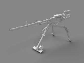 NSV 'Utyos' machine gun WIP