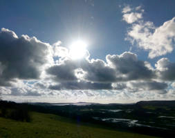 Sun on the Lune by MontyMouse