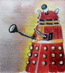 EXTERMINATE World Watercolour Month Day 16 by MontyMouse