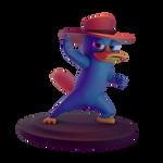 Perry 3D Render 2 Foto