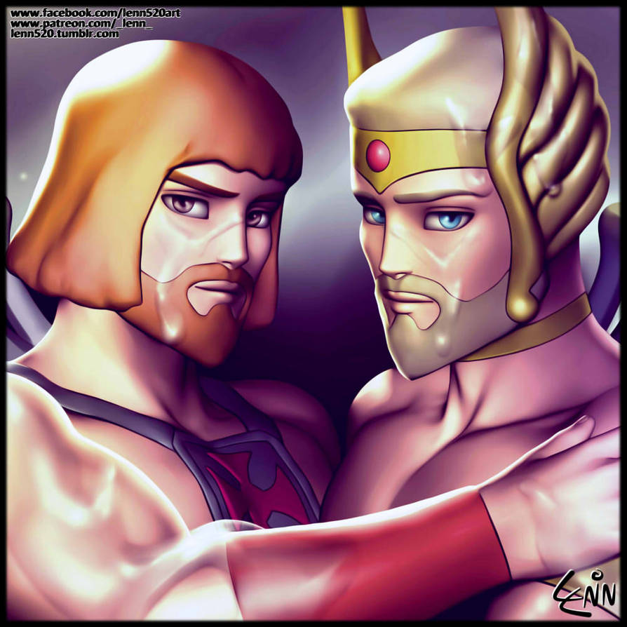 HeMan and SheRa SFW by Lenn520