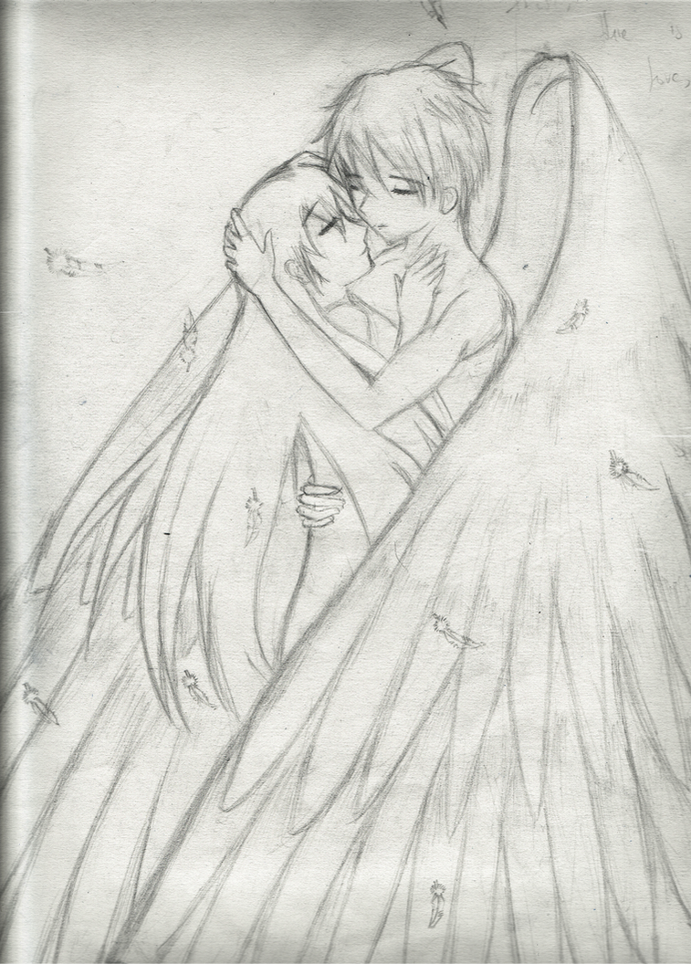Eros and Psyche by erokiel-myShiki on DeviantArt