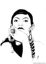 portrait by BenBASSO