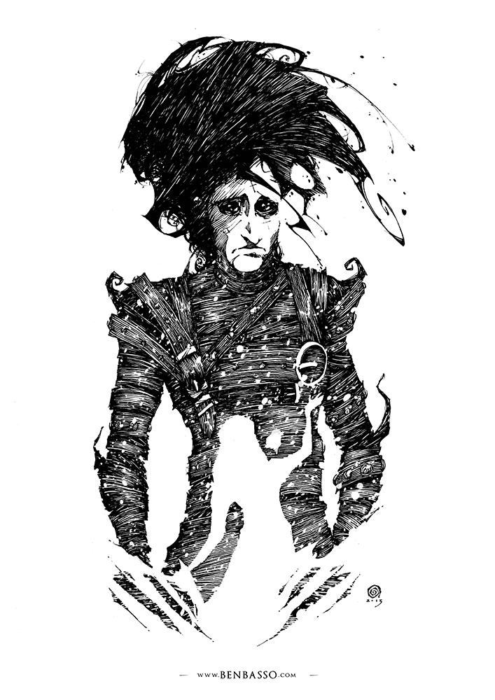 Edward Scissorhands by BenBASSO