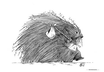 Porcupine by BenBASSO