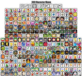 My 300 Character Meme by pingguolover