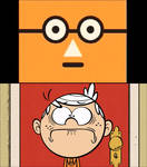 Scary PBS Kids Face scares Lincoln Loud