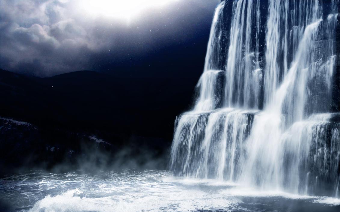 Water Fall by xeeshan-ch