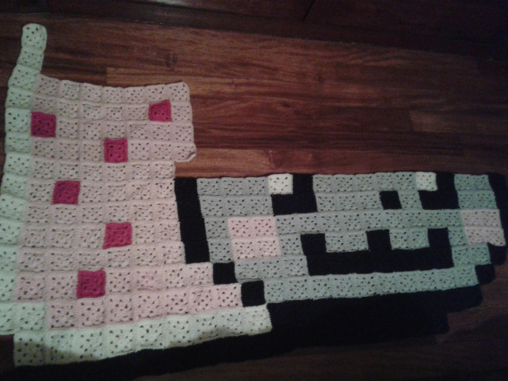 La Chocita Artesana Nyan_cat_blanket_wip5_by_crocheter-d5nzj5f