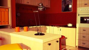 Kitchen Vray test