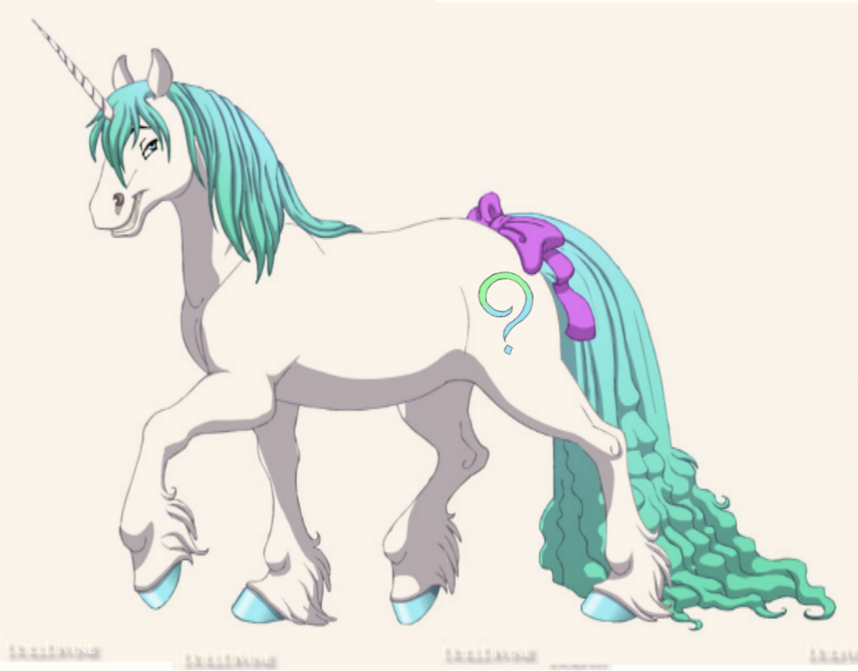 QuestionUnicorn made on fantasy horse maker by QuestionUnicorn