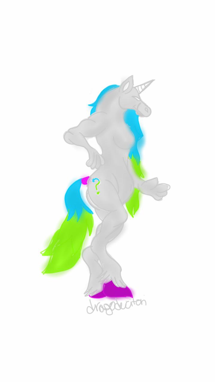 Question-Unicorn By Dragoduction by QuestionUnicorn