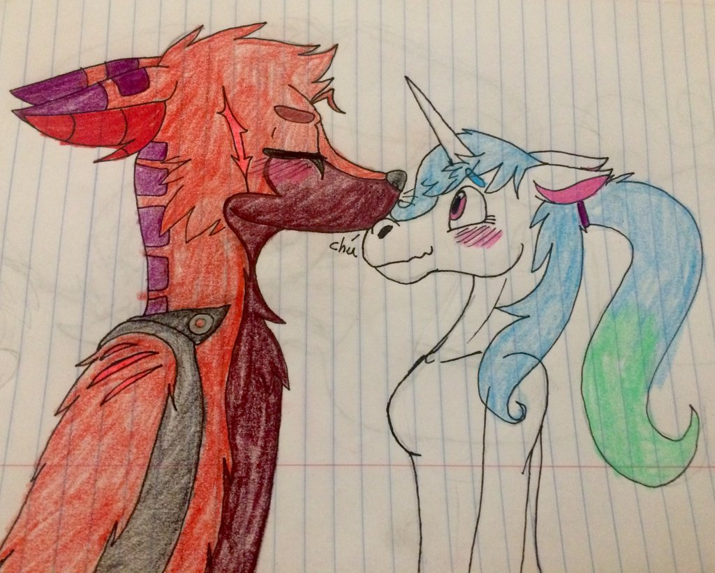 Duncan Kisses My Nose By Fenniccalipso by QuestionUnicorn
