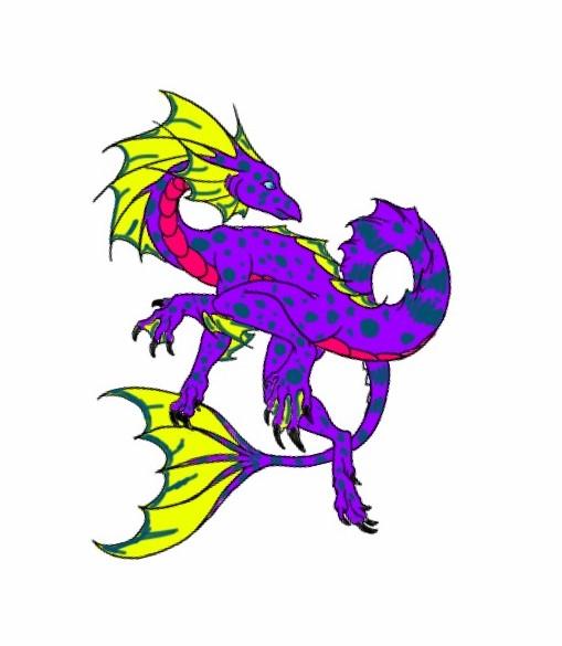 Sea Dragon 2 by QuestionUnicorn