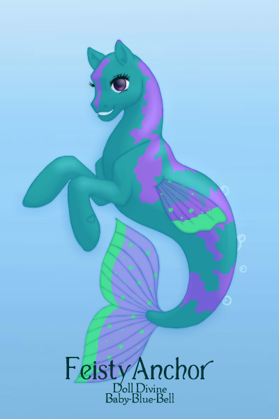 seahorse 10 by QuestionUnicorn