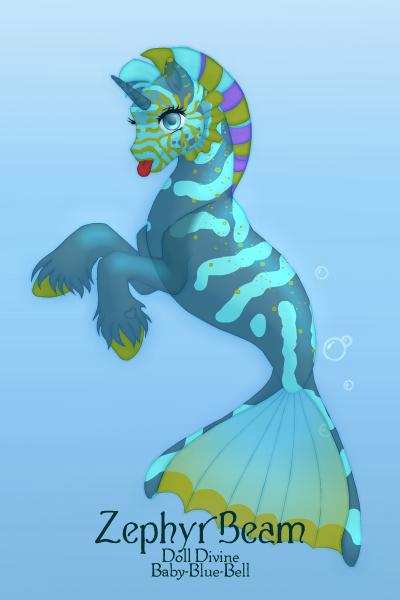 seahorse 23 by QuestionUnicorn