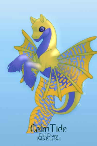 seahorse 40 by QuestionUnicorn